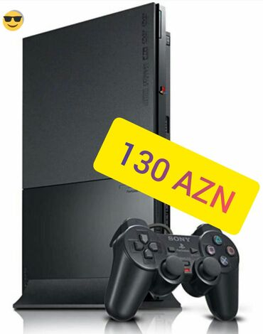 PlayStation 2 slim əla vəziyyətdədir lazeri əla işləyir dubaydan