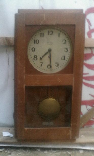 """Механические настенные часы """"МОСКВА"""" не рабочем состоянии  .ОШ в Ош"""