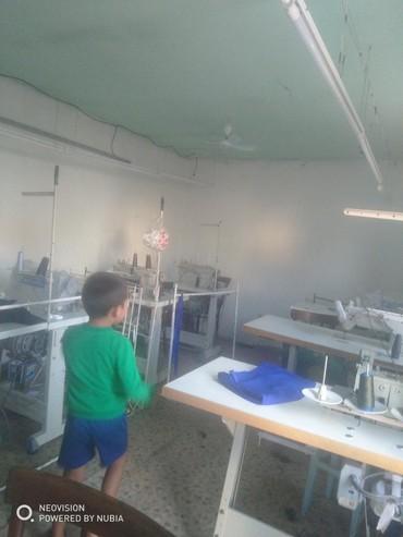 цех по производства брусчатки в Кыргызстан: Сдаю швейный цех в аренду  очень срочно  район кызыл аскера  6 прямос
