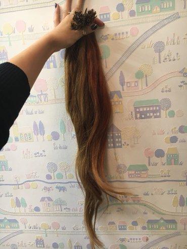 Перекапсовка нарошинных волос, в Бишкек