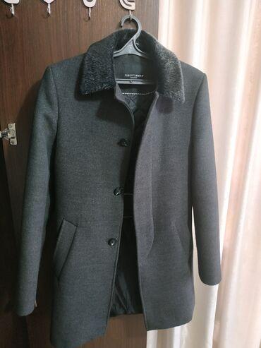 Продается пальто в отличном состоянии.Цвет- СерыйРазмер-