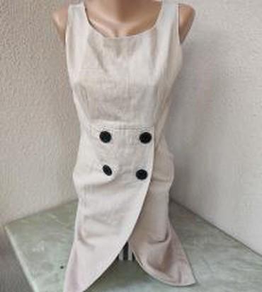 Happening-tunika-na-bratele-svila - Srbija: Roze neobicna haljina na bratelevel. M/Lduzina 90cmstruk 38cmgrudi