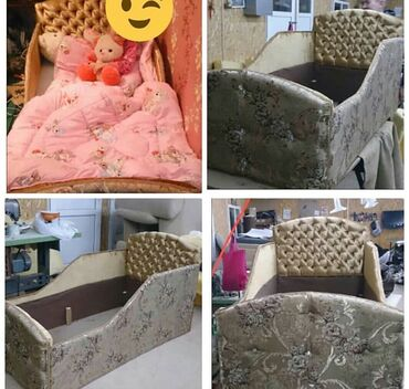 бу детские кроватки в Кыргызстан: Продаю две детские кроватки. Эксклюзивный дизайн. Такие кроватки будут