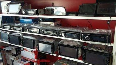 Bakı şəhərində Universal multimedia monitorlar. Sensor ekran. Dvd, flaşka sd kart aux- şəkil 6