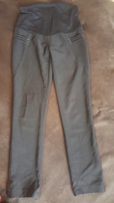 мужские черные брюки в Кыргызстан: Черные офисные брюки для беременных, размер S