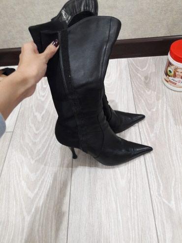 Женские сапоги,в идеальном в Бишкек