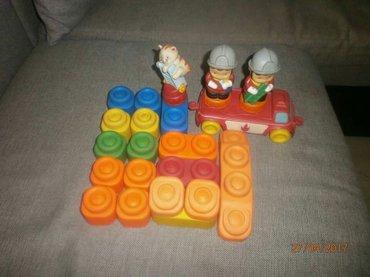 Mirisljave gumene kocke za decu,kupljene u Austriji,komplet sadrzi - Smederevo