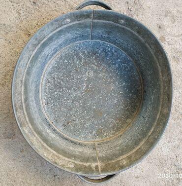 Тазик цинковый СССР, в идеальном состоянии, диаметр 40 см - 300 сом