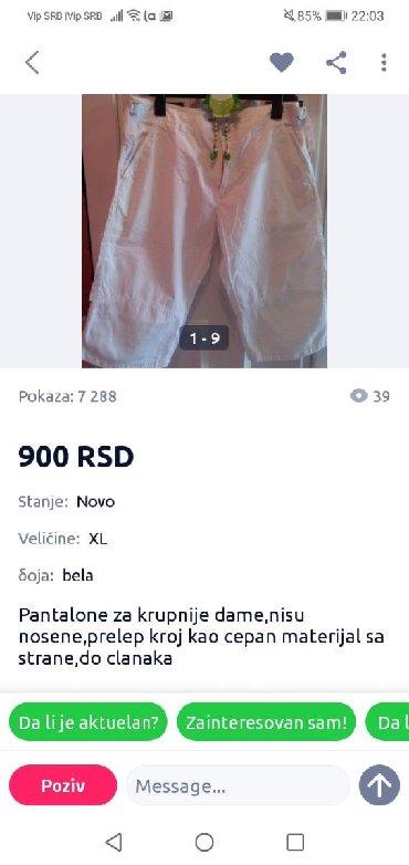 Pantalone vrhhhh