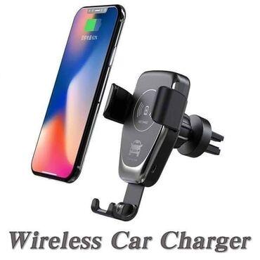 Telefoni mobilni - Srbija: Auto nosac mobilnog sa bezicnim punjacemCena: 1500 dinara. Nosac za