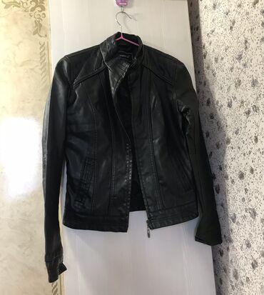 Женская кожаная куртка Размер 42