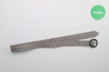 Пасок з круглою пряжкою   Довжина: близько 115 см  Стан гарний
