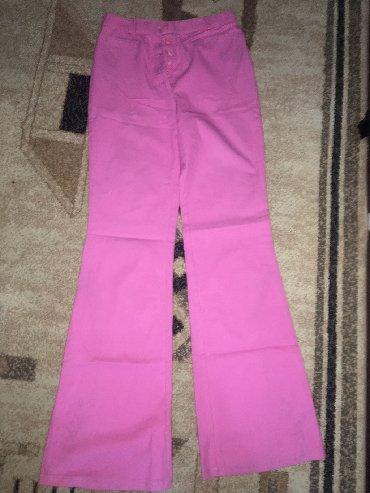 розовая мужская одежда в Кыргызстан: Розовые штаны клёш 36-42-42 размер красивые 200 сом