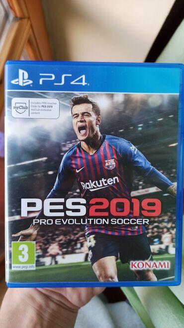 Pes 2019 za PS4