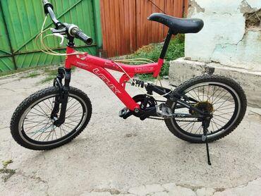 Спорт и хобби - Кара-Балта: Продаю велосипед подростковый класс размер 20 на ходу только скорость