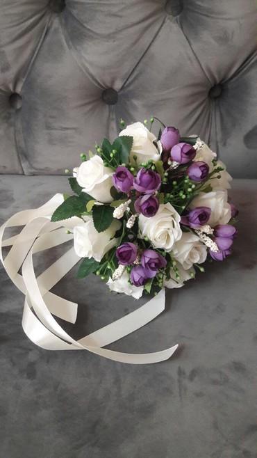 Свадебные аксессуары - Новый - Бишкек: Букет Невесты