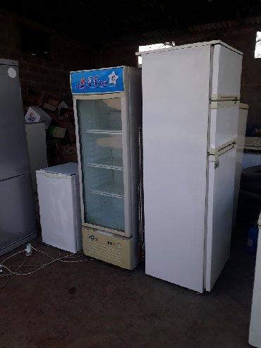 шредеры 23 в Кыргызстан: Холодильник.морозильниктер сатылат жакшы иштейт 8:00-23:00 чейин