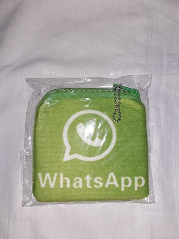 Çantalar Gəncəda: Whats App yazılı pul kisəsi