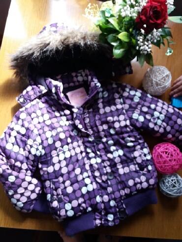 Dečija odeća i obuća | Kraljevo: Ttopla zimska jakna za curice, vel 4. Super stanje