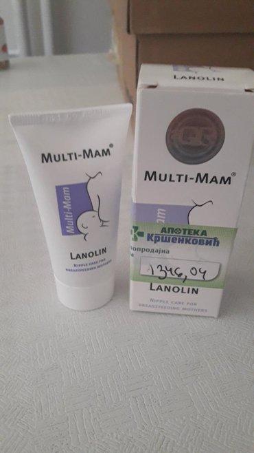 Ostalo   Majdanpek: Multi mam-Lanolin,ublazava bol bradavica kod dojilja.Pakovanje je