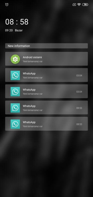 barter telefon - Azərbaycan: Telefon Satilir ya barter olunur. Redmi 8 A iwlemeyine hec bir problem