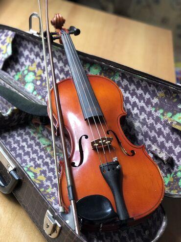 Скрипки - Кыргызстан: Продаю скрипку Shimro в хорошем состоянии б/у. Размер: 2/4 Производств