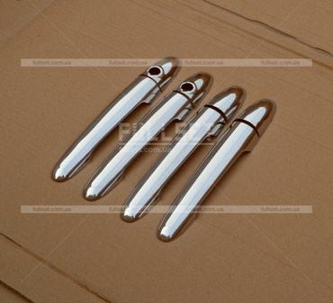 Хром накладки на ручки W906 на Рекс Мерседес Бенц
