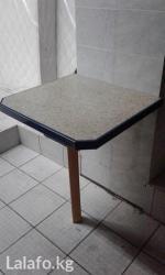 столик для фруктов в Кыргызстан: Приставной столик б/у размер столика-глубина 58 смширина 63