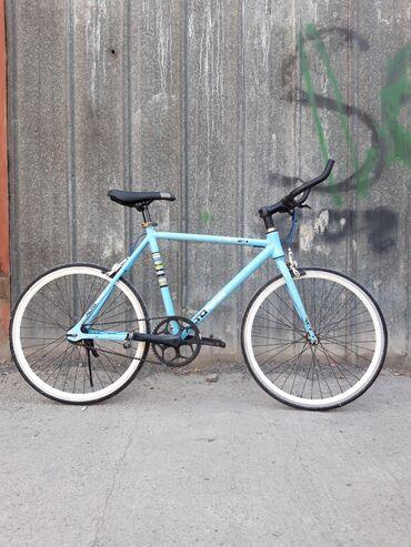 Велосипед кама супер лёгкий (можно поднять на одной руке даже