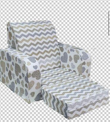 Dečija fotelja kubaDimenzija Je 55x60cm Sedeci deo 40x30cm kada se