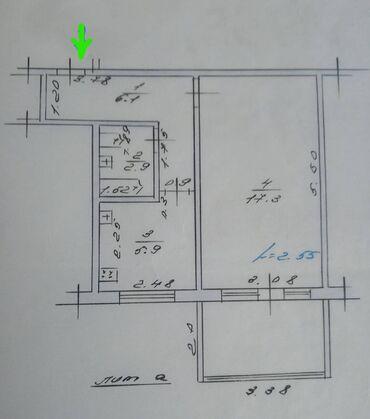 Продажа квартир - Бишкек: 104 серия, 1 комната, 33 кв. м