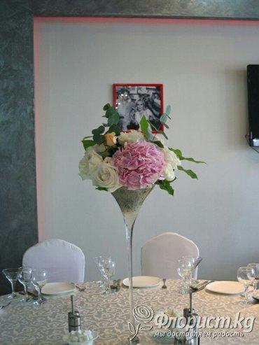 вазы мартиницы для свадебного декора высотой 50см 5шт в Бишкек