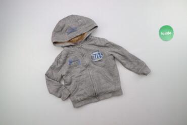Дитяча тепла толстовка з хутром Pocopiano, зріст 116 см    Довжина: 40