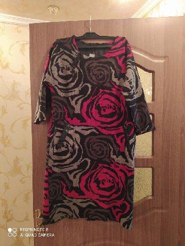 длинные шифоновые платья с рукавами в Кыргызстан: Продаю платье. Размер 50. Рукав три четверти