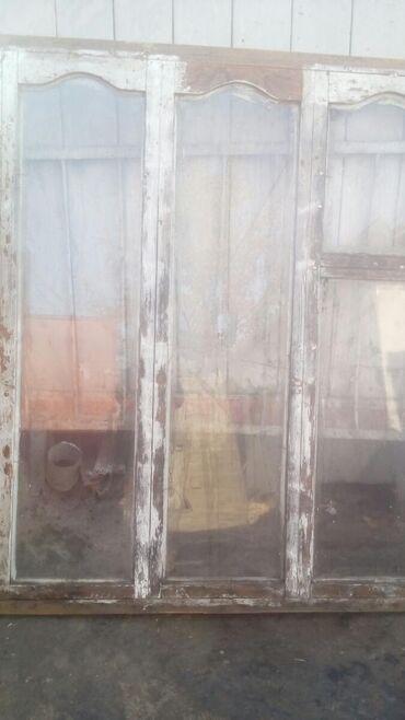 Продаю деревянные окна б/у большие