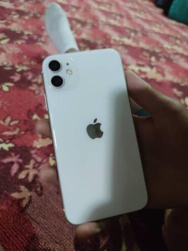 Электроника - Чаек: IPhone 11 | 64 ГБ | Белый Б/У | Face ID, С документами