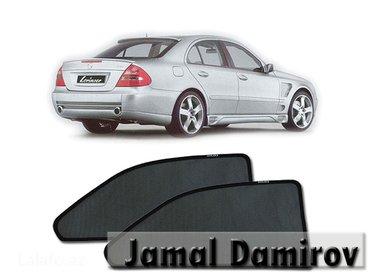 Bakı şəhərində Mercedes w211 və hər növ avtomobil üçün pərdələr.