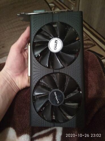 ПРОДАМ ВИДЕОКАРТУ SAPPHIRE NITRO RX570 4GB 256 BIT DDR5.ДАМ ПАРУ ДНЕЙ