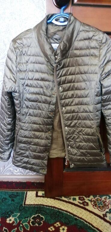Куртка деми цвет хаки стоит 800. Ориентир ошский район