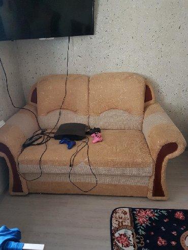 диван др в Кыргызстан: Диван 2ка+ кресло самовывоз!