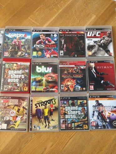 Bakı şəhərində Playstation_3 oyunu...Xaricden gelme original disklerdi...Teze