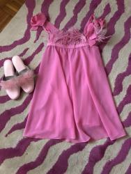 Ženska kućna odeća - Kragujevac: Yamamay barbie pink neglize/spavacica
