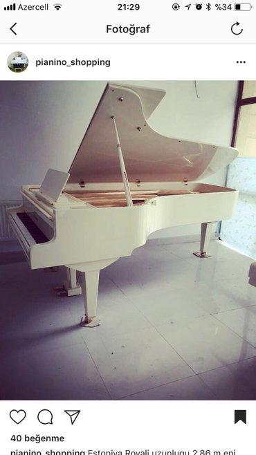 Bakı şəhərində Pianino Royal