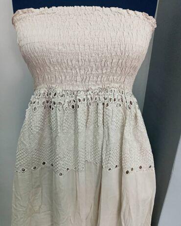 Carape bez prstiju - Kraljevo: Lagana pamucna haljina bez ostecenja