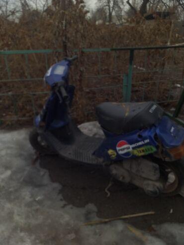 Мотоциклы и мопеды - Кыргызстан: Продается yamaha 50 кубовый . Не рабочий но можно починить