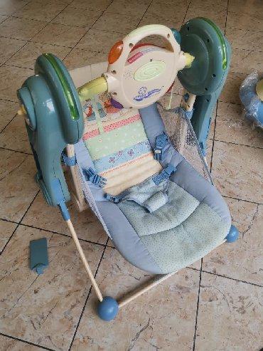 Ljuljaska za bebe - Srbija: Ljuljaska za bebe u ok stanju. Radi na baterije. Ispravna. Mogucnost