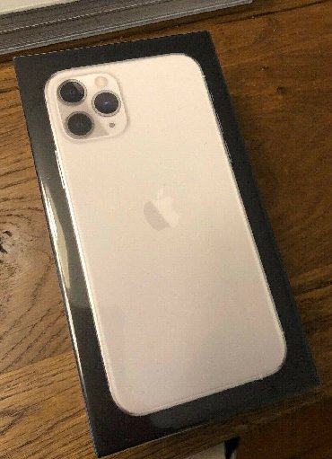 New IPhone 11 Pro 256 silver
