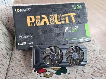 Palit dual gtx 1060 6gb полный комплект сост отличное