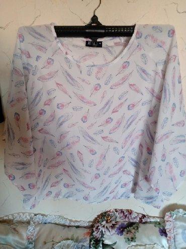 Košulje i bluze | Kraljevo: Bluza nova siri rukavi. fab.br 42. Obim grudi do 100. duz. 60cm