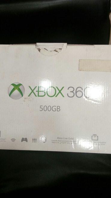 Xbox 360 в хорошем состоянии с коробкой с документами. Не прошита в Бишкек